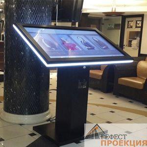 Зачем необходим интерактивный сенсорный стол